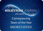 Solicitors Journal Conveyancing Team of the Year Boys & Maughan shortlisted